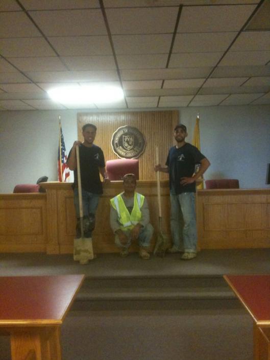 Gloucester TWP, NJ Municpal Court Room