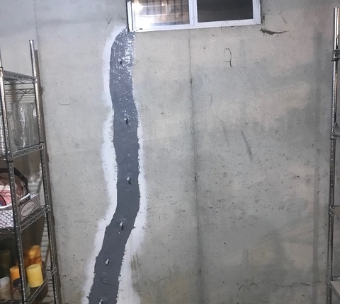 Concrete Crack Injections – South Jersey Waterproofing Company